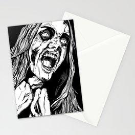 Zombie Rage Stationery Cards