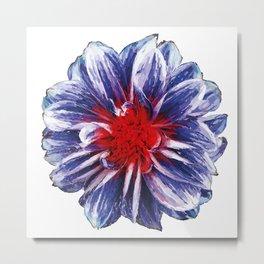 circle flower Metal Print