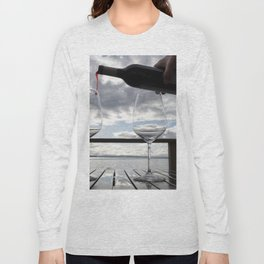 First Pour Red Long Sleeve T-shirt