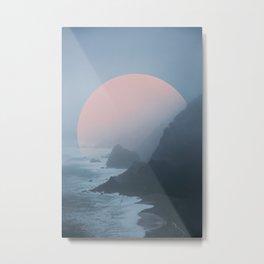 New Zealand Coast II Metal Print