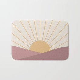 Morning Light - Pink Bath Mat