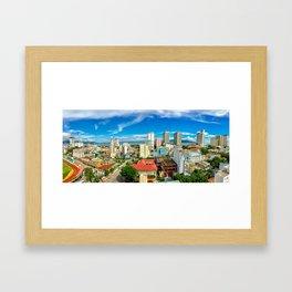 Nha Trang City Framed Art Print