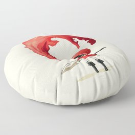 Red Cape Floor Pillow