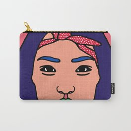 Asian Beauty : Bandana Girl Carry-All Pouch
