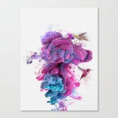 Hummingbirds Ink Canvas Print