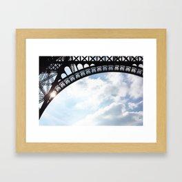 61. Madame Eiffel, Paris Framed Art Print