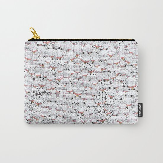 FIND THE PANDA - LUCKY CAT Carry-All Pouch