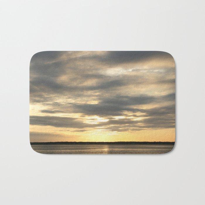 Seaside Sunset 01 Bath Mat
