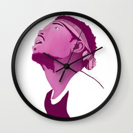 Chance The Rapper; Pink Wall Clock