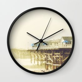 Crystal Pier Wall Clock