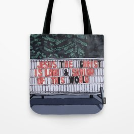 Jesus The Christ Tote Bag