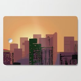 Sunset over San Francisco Cutting Board