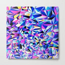 Pink & Blue No. 1 Metal Print