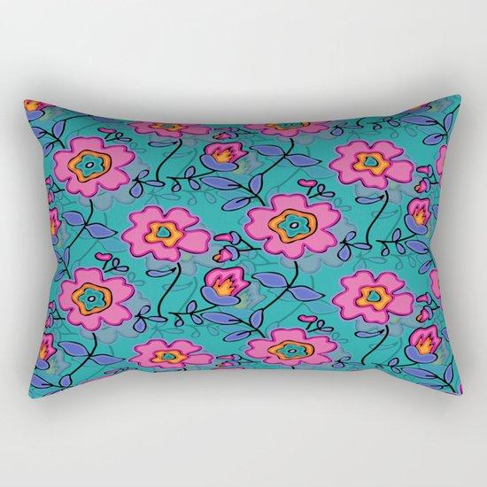Flower 41 Rectangular Pillow
