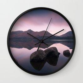 Derwentwater Sunrise - Lake District Wall Clock