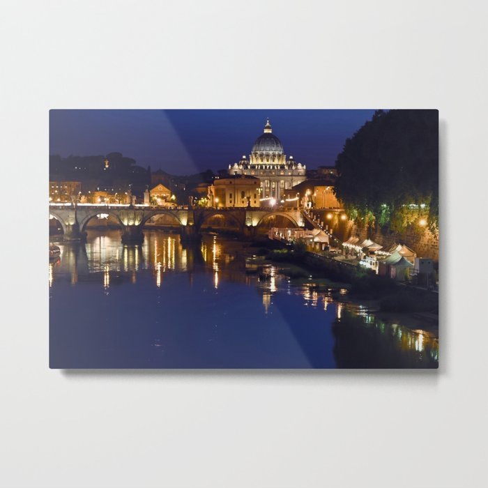 St. Peter's Church in Rome Metal Print