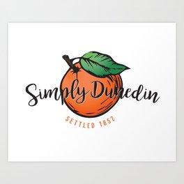Simply Dunedin Art Print