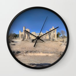 Ha Ha Tonka Castle Ruins Wall Clock