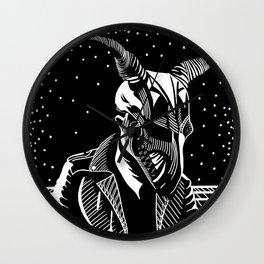 Horns V.22 Wall Clock