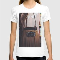camera T-shirts featuring camera by Jazza Vock