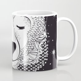 Dreaming Polar Bear Coffee Mug