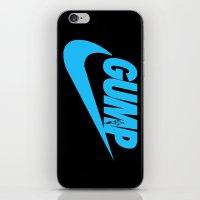 forrest gump iPhone & iPod Skins featuring Gump- JustDoIt IV by IIIIHiveIIII