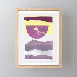 Sound Avenue II Framed Mini Art Print
