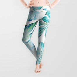 love tropical Leggings