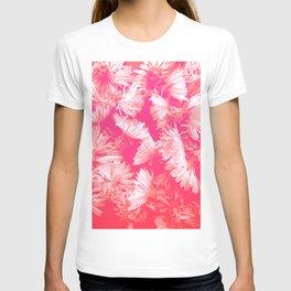 Pink dandelion T-shirt