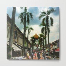 Colors of Singapore Metal Print