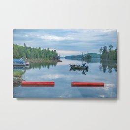 Palmerston Lake Metal Print