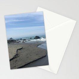 Klamath Beach in California Stationery Cards