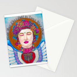 Close Your Eyes,Fall in Love, Stay There Stationery Cards