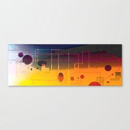 Unquieted Canvas Print