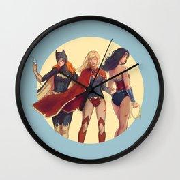 Girls of DC Wall Clock