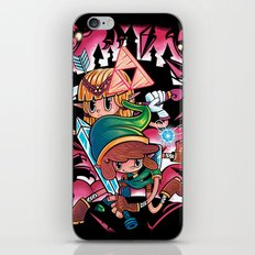 Piece Keepers iPhone & iPod Skin
