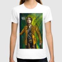 mockingjay T-shirts featuring The Mockingjay by Paulo Fodra
