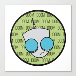 Gir Doom Canvas Print