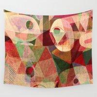 rio Wall Tapestries featuring Rio Doce by Fernando Vieira