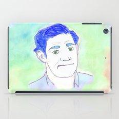 Jim Halpert Face.  iPad Case