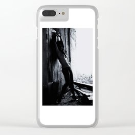 Nude BW Clear iPhone Case