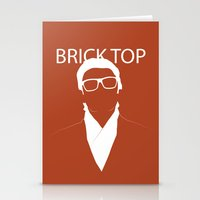 snatch Stationery Cards featuring Brick Top by TdL MD