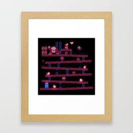 Kong Donkey Framed Art Print