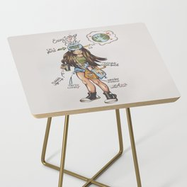 ECO-FRIENDLY TIPS Side Table