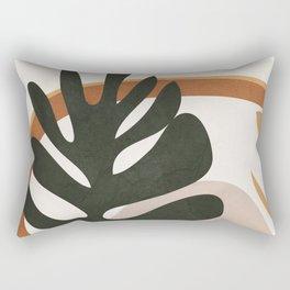 Abstract Plant Life I Rectangular Pillow