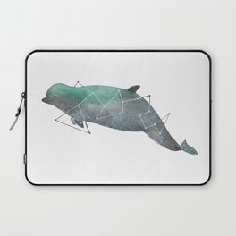 Bottlenose whale Laptop Sleeve