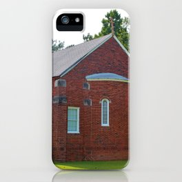 Gold Onion Dome Church iPhone Case