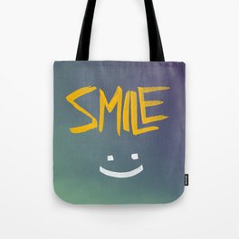 Smile (: Tote Bag