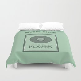 Made to be Played — Music Snob Tip #33⅓ A Duvet Cover