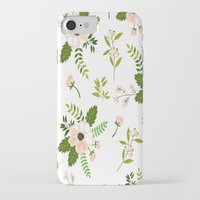 flower pattern iPhone & iPod Cases featuring Flower Pattern by Jenna Davis Designs
